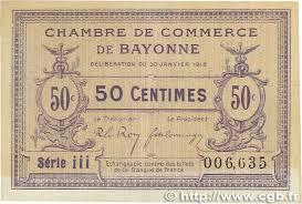 chambre des commerces bayonne 25 centimes bayonne notgeld numista chambre de commerce de