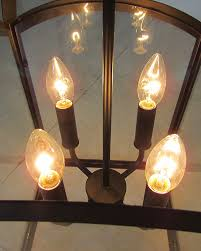 Amber Glass Pendant Lights by 4 Lights Vintage Industrial Style Rusty Wrought Iron Glass Pendant