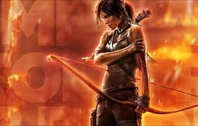 tomb raider a survivor is born wallpapers wallpaper lara shotgun born lara tombs the raider croft