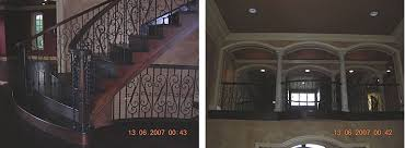 stout u0027s metal products inc interior balcony railings