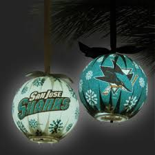 san jose sharks ornaments buy sharks ornaments at shop