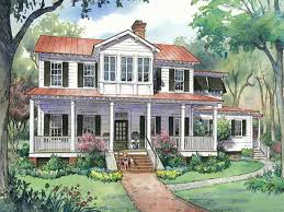 Historic Farmhouse Plans Lowcountry Cottage Cottage Living Southern Living House Plans