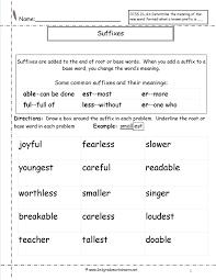 suffix worksheets u2013 wallpapercraft