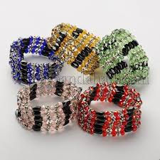 magnetic wrap bracelet images Wholesale magnetic hematite wrap bracelets necklaces with abacus JPG