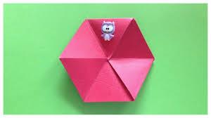 flexagon origami magic indoor games for kids youtube