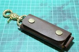 make key rings images Making a simple leather key holder jpg