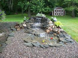 Backyard Waterfall Ideas by Small Pond Waterfall Ideas Landscaping Ponds Pondless