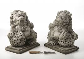 foo dog bookends tips antique foo dogs statues for your home nadabike