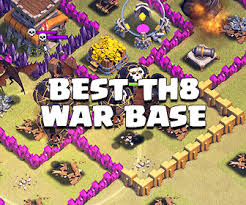 coc map layout th6 town hall 6 guides for clash of clans coc land