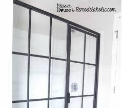 Industrial Shower Door Industrial Style U2013 Remodelaholic