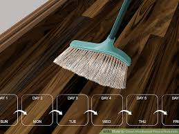 3 ways to clean hardwood floors naturally wikihow