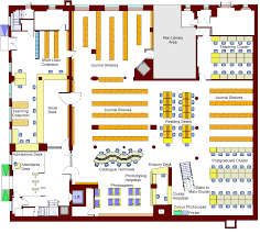 ucl library newsletter issue 6 plan image