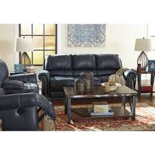 signature design by ashley inmon navy sofa free shipping today
