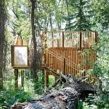 Treehouse Examples Wooden Buildings Dezeen