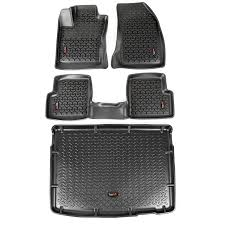 2007 jeep grand floor mats jeep truck suv floor liners mats cargo liners by rugged ridge