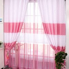 Cheap Cute Curtains Cute Girls Geometrical Printing Cotton And Linen Curtains Buy