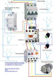 single phase motor starter wiring diagram free at 3 agnitum me