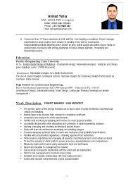 How To Make A Successful Resume Yehia Cv Portfolio 2017 Final