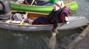 using design for creative problem solving sugru heidi in action on her canoe with new paddles