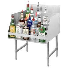 Liquor Display Shelves by Advance Tabco Ld 2112 Stainless Steel Liquor Display Rack 12