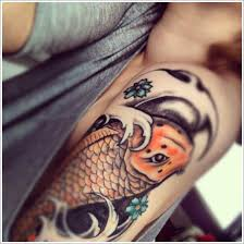 40 beautiful koi fish tattoo designs