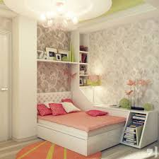Orange Area Rug With White Swirls Teen Bedroom Fancy Teenage Bedroom Decorating Ideas With