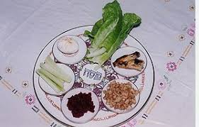 what is on a passover seder plate passover seder plate