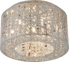 Contemporary Light Fixtures by Contemporary Lighting E21300 10pc Inca 7 Light Flush Mount In