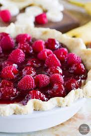 raspberry recipes raspberry banana pie recipe taste and tell