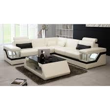 canapé lit luxe canapé d angle design en cuir véritable tosca l lit convertible
