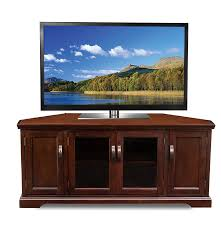 corner tv stands for 60 inch tv amazon com leick 81386 chocolate cherry corner tv stand 60