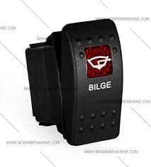 bilge rocker switch carling contura ii illuminated accessory