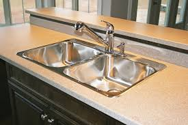 Countertop Kitchen Sink Stainless Steel Kitchen Sink Photograph