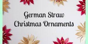 german blown glass ornaments delicate tree gems