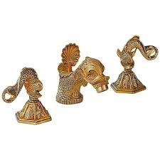 eclectic dolphin ring holder images 1960s sherle wagner 22 carat gold plate dolphin sink faucet set jpg