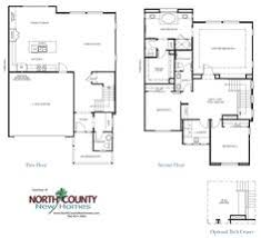floor plan 1 at one channel island encinitas new homes new home