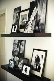 Wall Shelves Decor by Picture And Shelves On Wall Together It All Started After Being