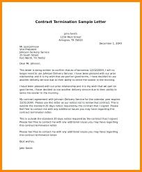letter of termination sample u2013 aimcoach me