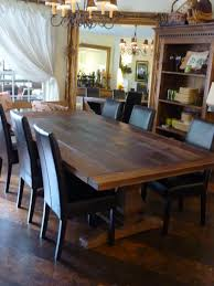 Pine Dining Room Chairs Leather Dining Room Chairs Throughout Rustic Leather Dining Room
