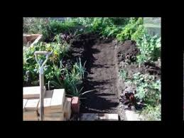 paving and edging vegetable garden youtube