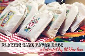 party favor bags card favor bags