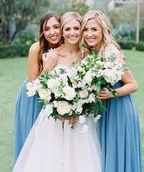 robin egg blue bridesmaid dresses rainy day wedding at el chorro white bouquets wedding and