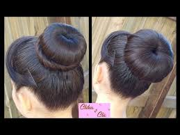 donut bun hair how to make a donut bun 15 steps with pictures wikihow