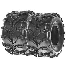 set pair of 2 sunf 23x7 10 23x7x10 quad sport atv tires 4 ply