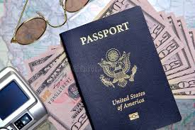 do you need a passport to travel in the us images American us passport and money ready for travel stock photo jpg