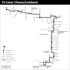 Max Map Portland by 75 Cesar Chavez Lombard
