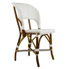 White Plastic Bistro Chairs Beautiful White Bistro Chairs In Interior Design For Home With