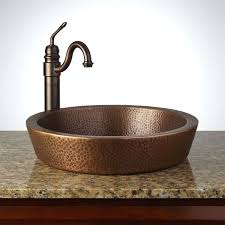 Powder Room Vanity Shower Head Purifier Copper Sink For Outdoor Kitchen Powder Room