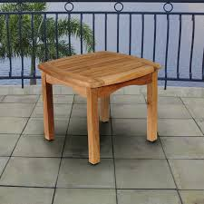 Outdoor Wooden Patio Furniture Small Outdoor Table How To Decorate Using Patio Regarding Plan 4