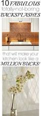 How To Make A Backsplash In Your Kitchen 174 Best Wall Floor Counter Backsplash Images On Pinterest